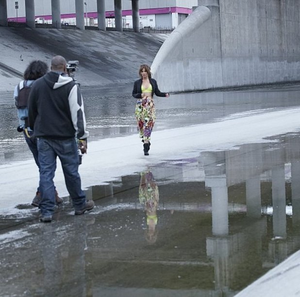 Call My Name video shoot