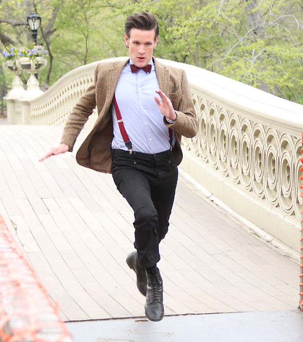 Matt Smith in action