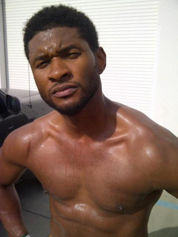 Usher Twitter picture