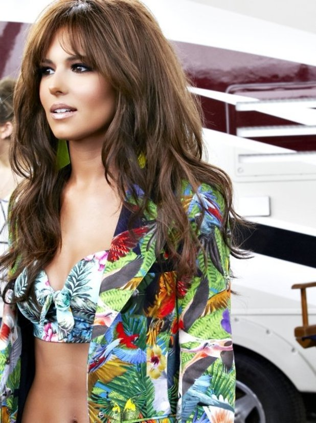 Cheryl Cole Behind The Scenes