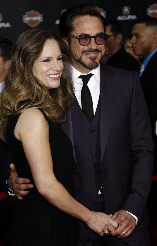 Robert and Susan Downey Jr