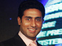 Abhishek Bachchan mets idol Magic Johnson