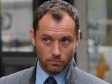 Jude Law on the set of 'The Bitter Pill' in New York City