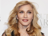 Madonna at the Truth or Dare by Madonna fragrance launch at Macy&#39;s