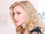 Madonna at the Truth or Dare by Madonna fragrance launch at Macy's