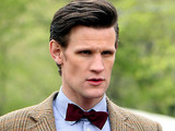 Matt Smith filming Doctor Who in Central Park, New York.