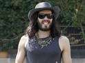 Russell Brand recalls how he stole items from celebrities in his early career.