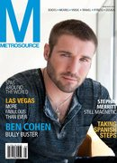 Ben Cohen covers Metro Source magazine
