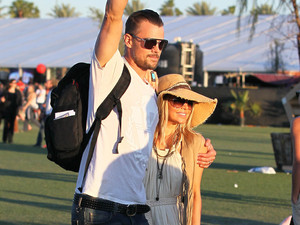 Fergie and Josh Duhamel, Coachella