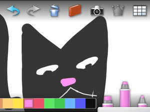 PS Vita 'Paint Park' screenshot
