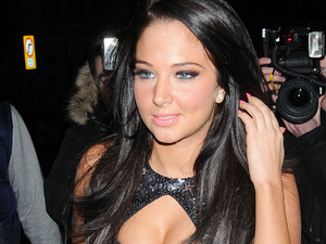 Tulisa Contostavlos at Jonathan Shalit's 50th birthday party at The V&A. - Departures London