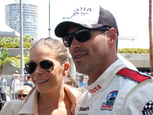 LeAnn Rimes and Eddie Cibrian The 36th Annual Toyota Pro/Celebrity Race held at Long Beach Long Beach, California