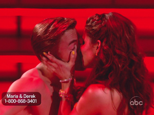Dancing With The Stars: Derek Hough and Maria Menounos