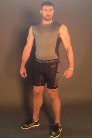 Ben Cohen shares photoshoot behind-the-scenes on Facebook.