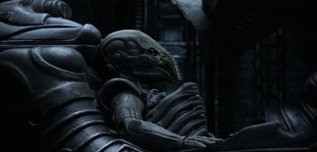 Prometheus Space Jockey