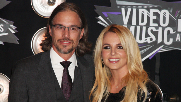 Britney Spears, boyfriend Jason Trawick 2011 MTV Video Music Awards held at LA Live - Arrivals Los Angeles, California - 28.08.11 Mandatory Credit: Nikki Nelson / WENN.com