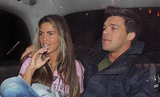 Katie Price and boyfriend Leandro Penna on night out.