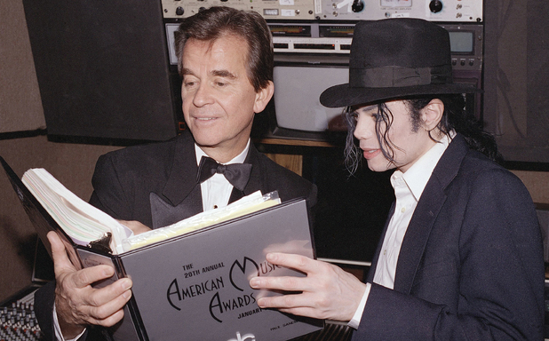 Dick Clark and Michael Jackson