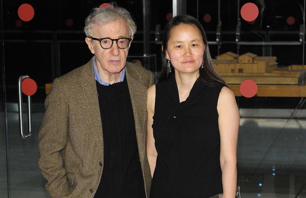 Woody Allen, Sun Yi Previn The Italian Premiere of the Woody Allen Film, 'To Rome with Love' Rome, Italy