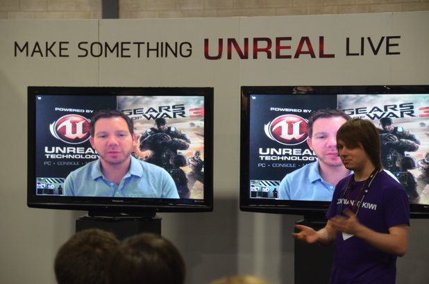 Cliff Bleszinski at Fighting Fantasy Make Something Unreal Live contest