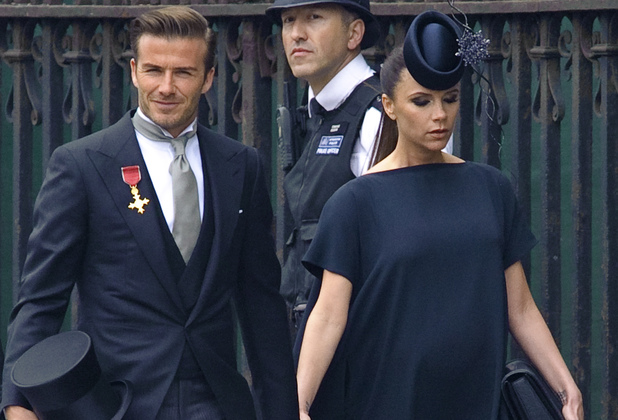 David Beckham, Victoria Beckham, Royal Wedding