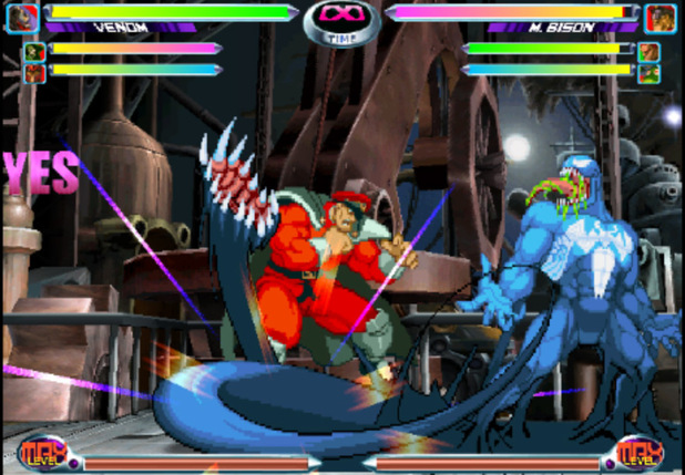 'Marvel vs Capcom 2: New Age of Heroes' iOS screenshot