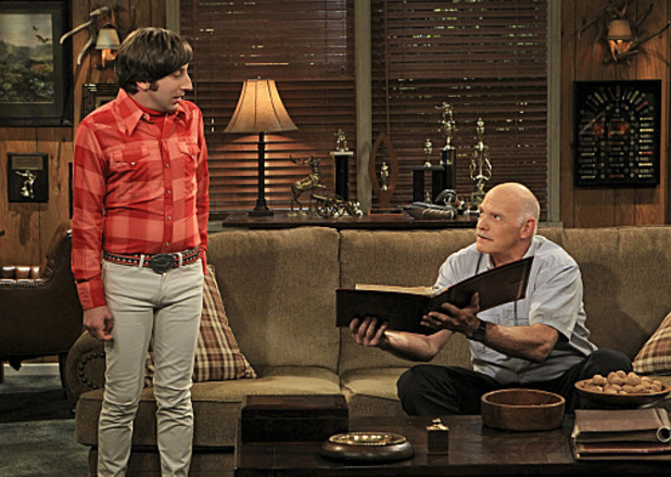 The Big Bang Theory: Howard and Bernadette's dad