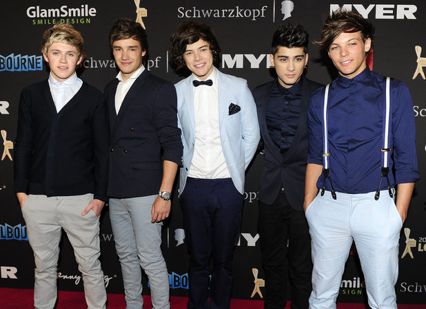 One Direction, 54th Annual TV Week Logie Awards, Melbourne,