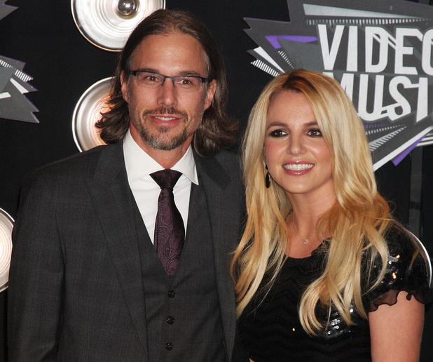 Britney Spears, boyfriend Jason Trawick 2011 MTV Video Music Awards held at LA Live - Arrivals Los Angeles, California - 28.08.11 Mandatory Credit: Nikki Nelson / WENN.com