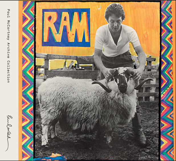 Paul McCartney: 'Ram' artwork