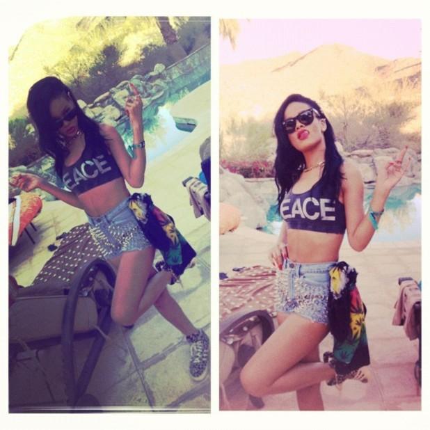 Rihanna, Coachella 2012, twitter
