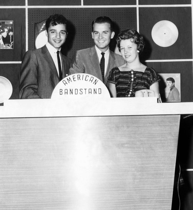 Dick Clark on 'American Bandstand'