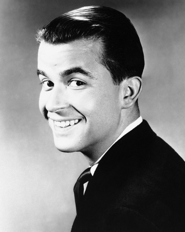Dick Clark shown in 1960