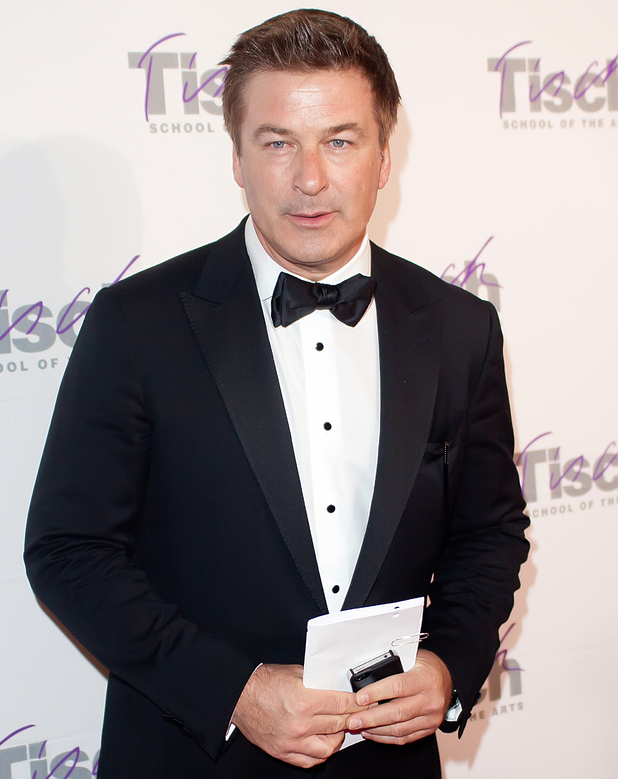 Alec Baldwin attends the Tisch School Of The Art's Gala 2012 at at The New York Marriott Marquis New York City, USA - 19.04.12 Mandatory Credit: MarmolejosWENN.com