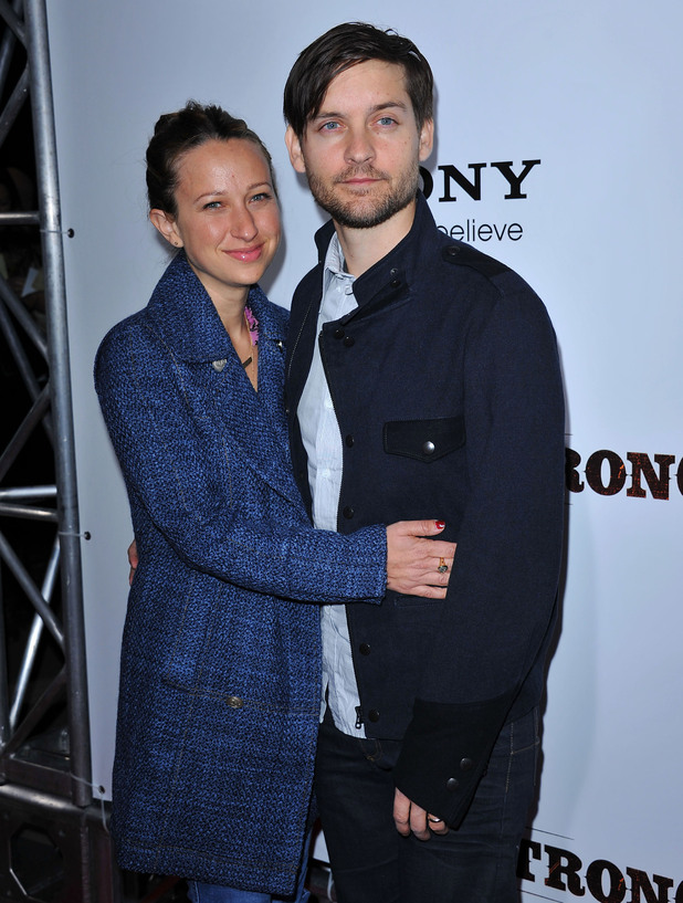 Tobery Maguire and Jennifer Meyer