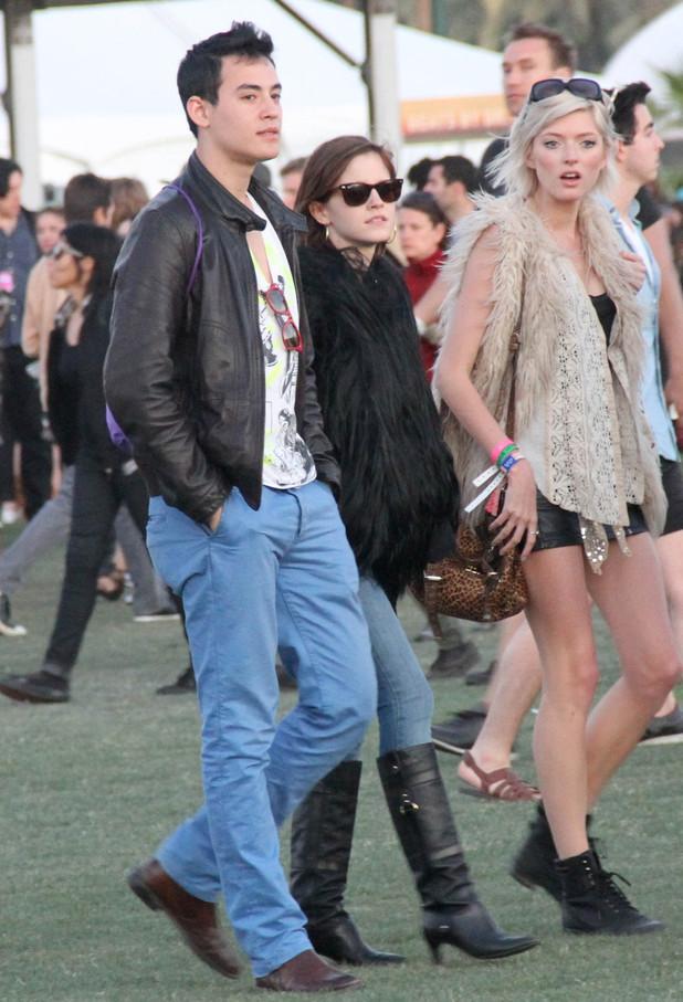 Emma Watson, Will Adamowicz, Coachella