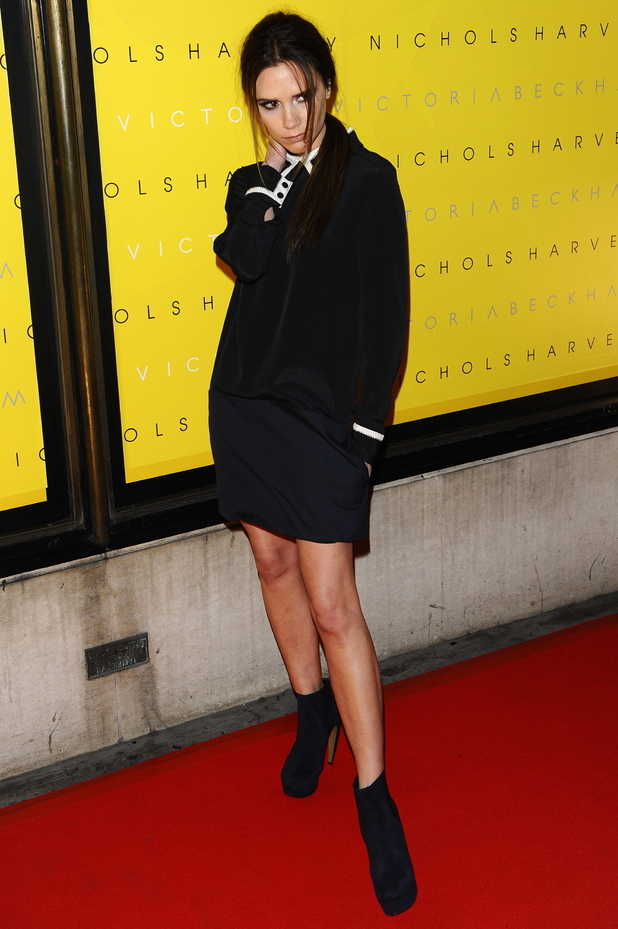 Victoria Beckham Unveiling of Victoria Beckham Clothing Line at Harvey Nichols - Arrivals London