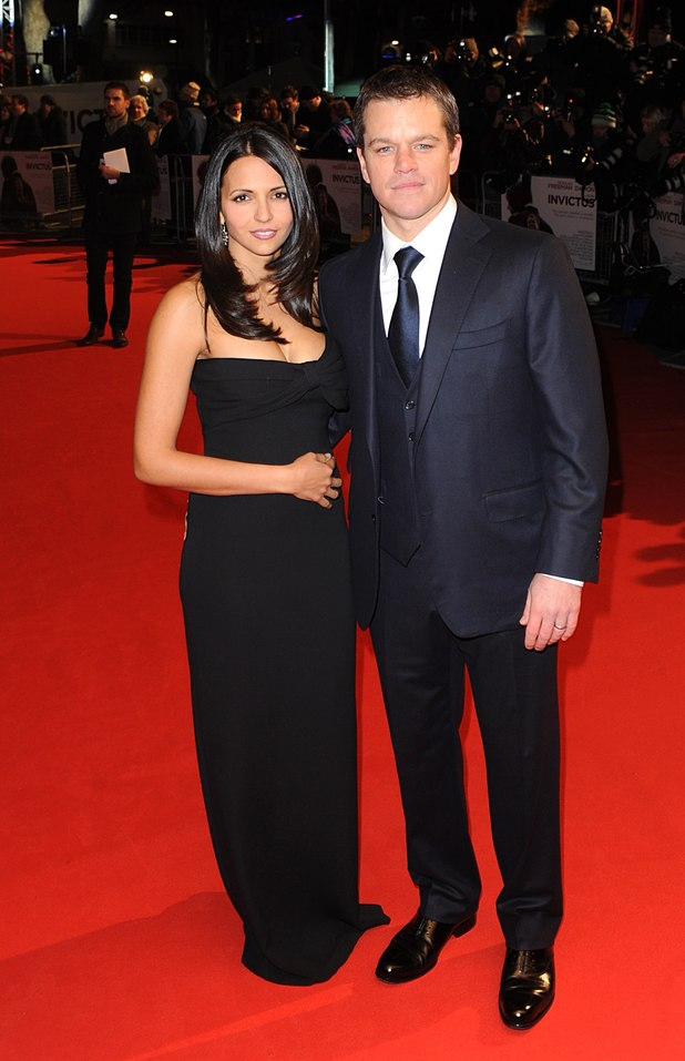 Matt Damon and his wife Luciana Barroso - Celebrities who ...