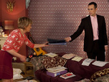 Michael talks to Jean about Alfie's money worries.