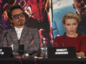 The Avengers cast assemble in London to discuss the new Marvel movie.