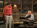 Picture promoting Casey Sander's guest appearance in the CBS sitcom is released.