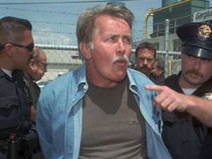 Martin Sheen, arrested, protest