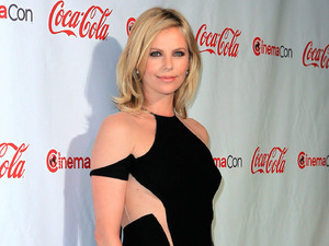 Charlize Theron CinemaCon 2012 Big Screen Achievement Awards at Caesars Palace Resort and Casino Las Vegas, Nevada