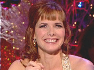 Darcey Bussell during her time as a judge on Strictly Come Dancing in 2009.
