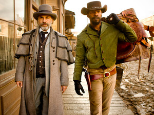 Django Unchained, Christoph Waltz, Jamie Foxx