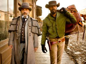 Django Unchained, Christoph Waltz, Jamie Foxx