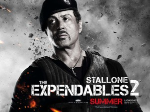 Sylvester Stallone, Expendables 2 character poster