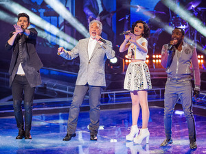 The Voice UK Live Show 1: Danny O'Donoghue, Tom Jones, Jessie J and Will.i.am perform.