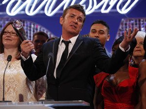 British Soap Awards 2012: Shane Richie speaks on behalf of the EastEnders cast.