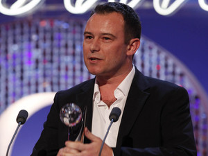 British Soap Awards 2012: Andrew Lancel wins the award for Best Villain.